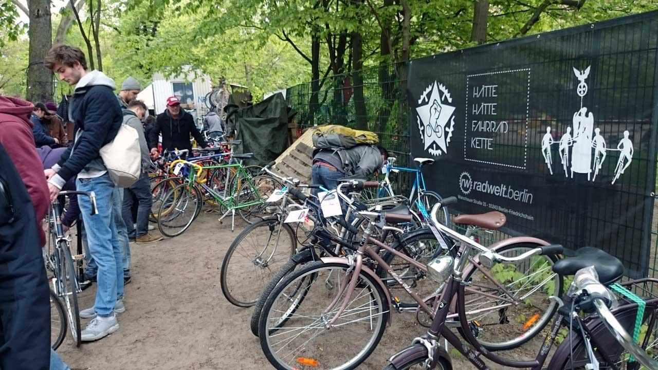 Berliner Fahrradmarkt - Fahrradmarkt Kreuzberg