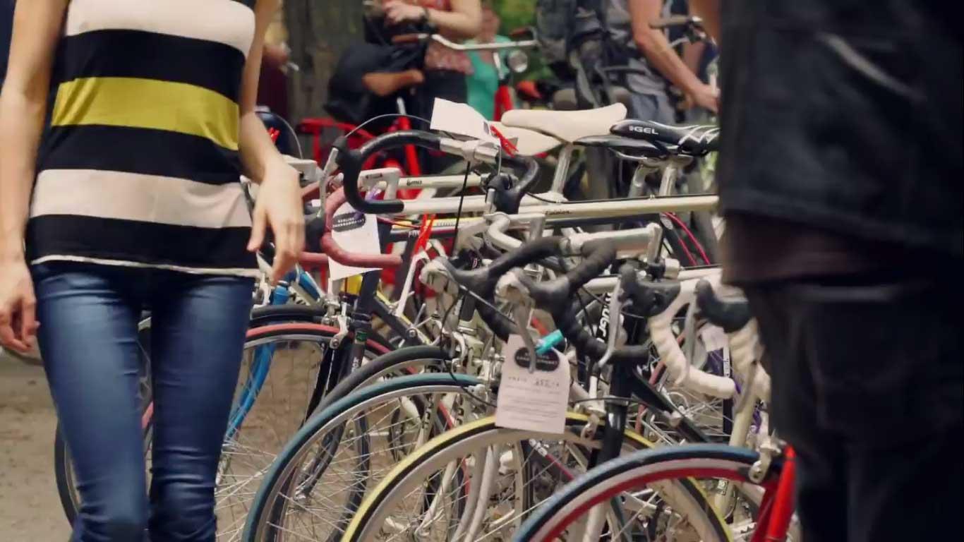 Berliner Fahrradmarkt Video