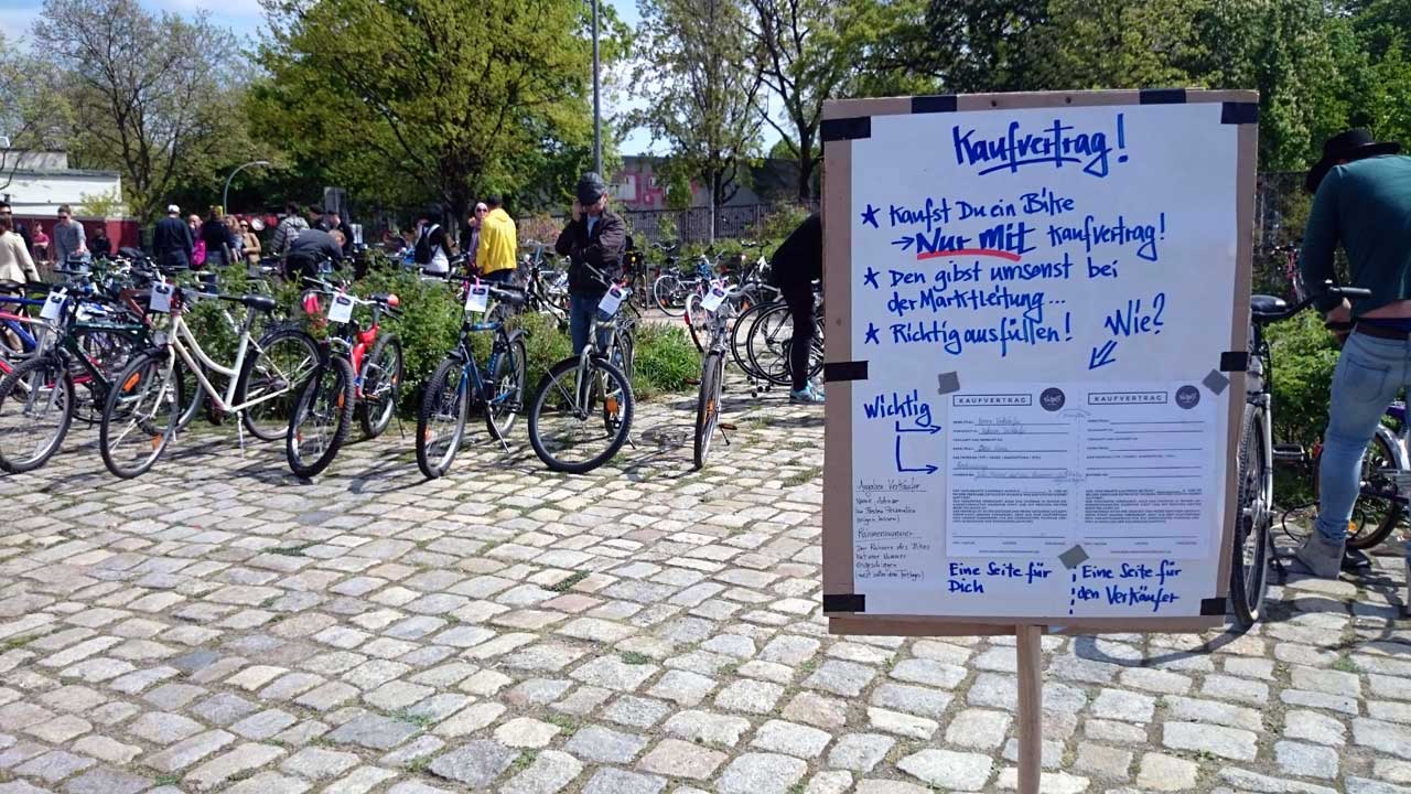 So funktioniert der Berliner Fahrradmarkt