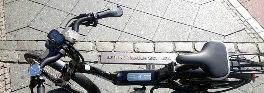Berliner Mauer Radweg mit dem Elby Bike erfahren