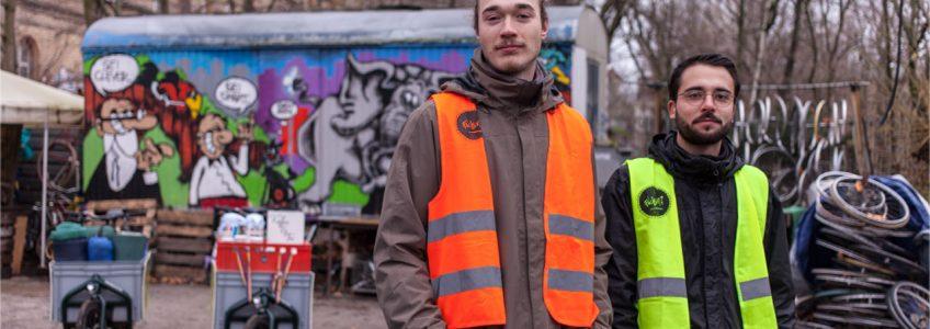 Warmgefahren Berlin - Kältehilfe mit Lastenrädern