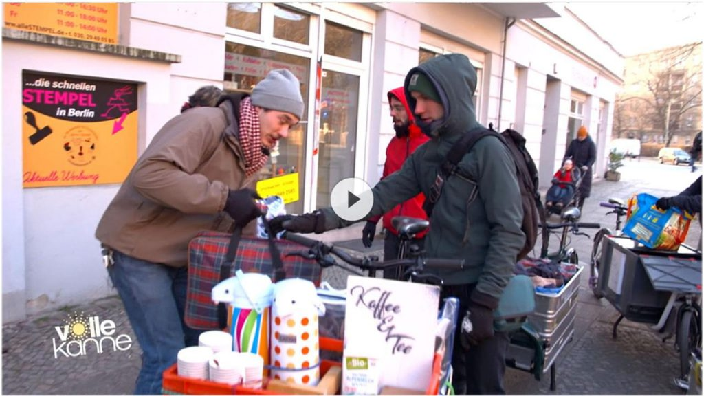 Kältehilfe für Obdachlose - Warmgefahren